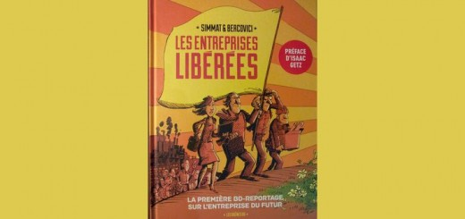 Les entreprises libérées : reportage en bande dessinée