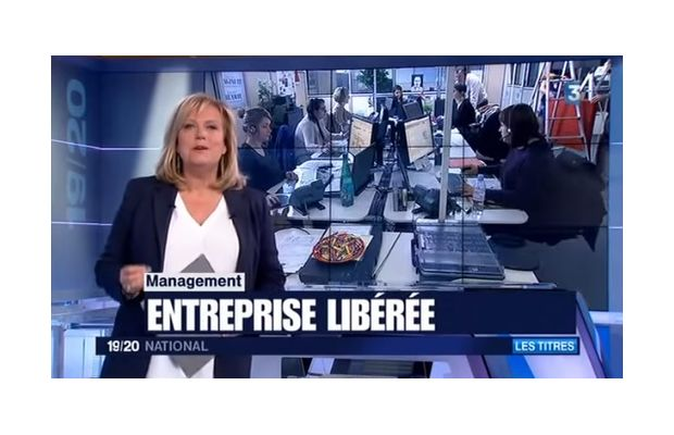 L'entreprise libérée arrive en France... et sur France 3